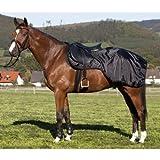 PFIFF 100247 Ausreitdecke, Nierendecke Pferdedecke Fleecefutter, Full/Warmblut