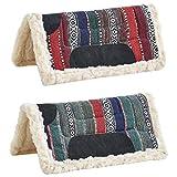 Busse Navajo-Pad STRIPES II, rot gestreift, rot gestreift, 24x24, 24x24