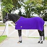York Polarfleecedecke Abschwitzdecke Fleecedecke Pferdedecke Britta (155 cm, violett)