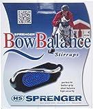 Sprenger Bow Balance Steigbügel - Edelstahl rostfrei, 120 mm Trittweite