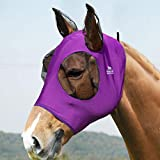 Harrison Howard Super-fit Pferdefliegenmaske Amethyst