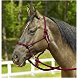 Knotenhalfter RINGE, Pony/Vollblut, bordeaux