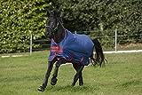 Horseware Amigo Mio Turnout lite Dark Blue red Weidedecke Regendecke (145)