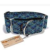 candyPet Halsband für Hunde aus Baumwolle – Hundehalsband – Handarbeit – extra breit – in 4...