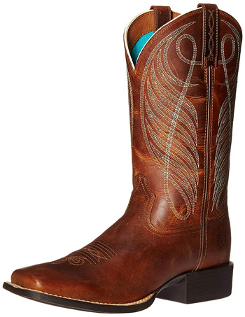 Ariat Reitstiefel Round Up Leder Damen