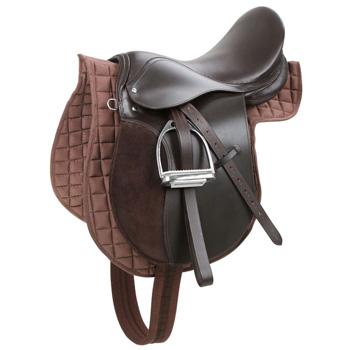 Pferdesattel aus Leder