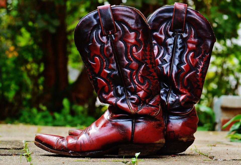 Westernstiefel Cowboystiefel braun Leder
